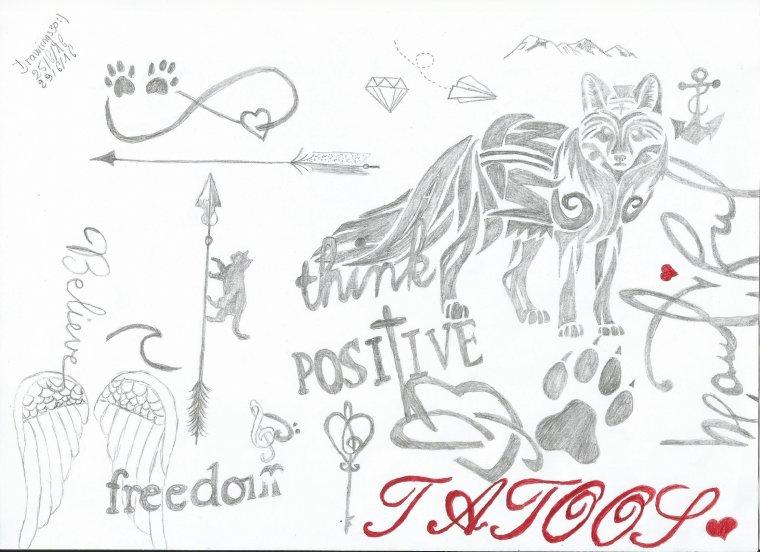 Sommaire de mes dessins ♥!!