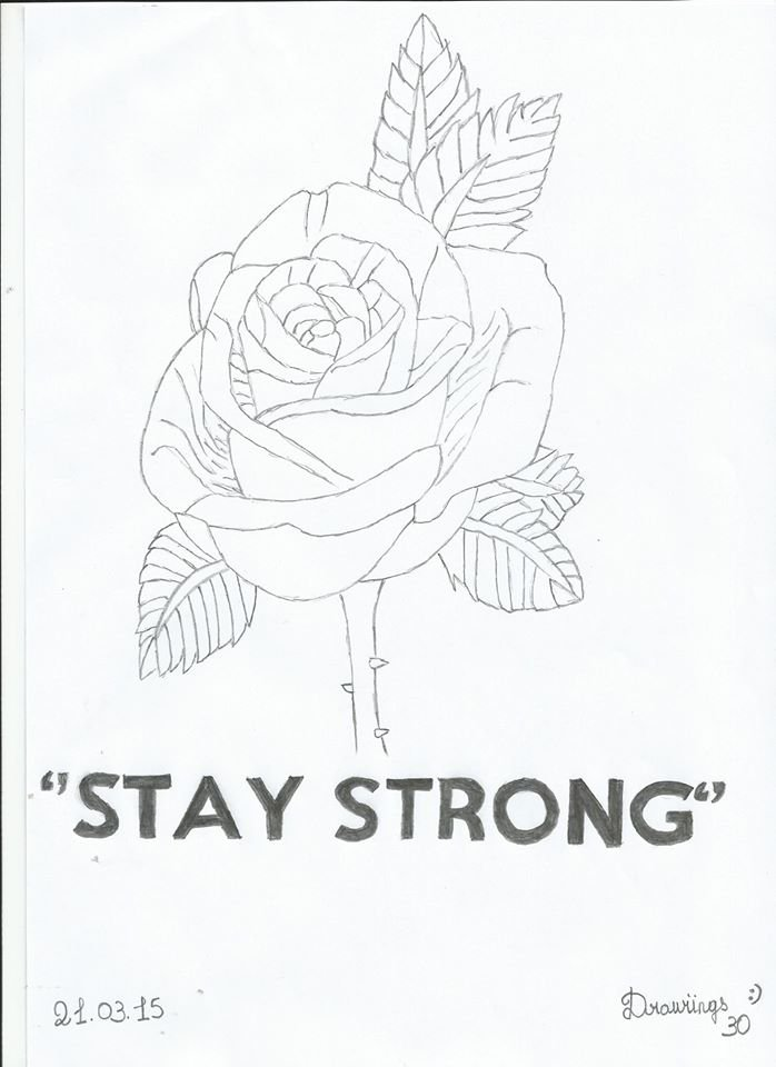 Stay Strong - Drawiings30
