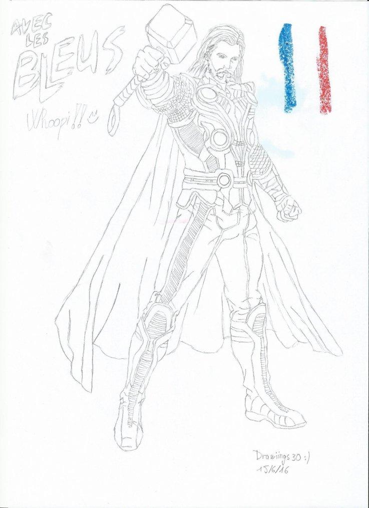 Avec les bleus!!  - Thor