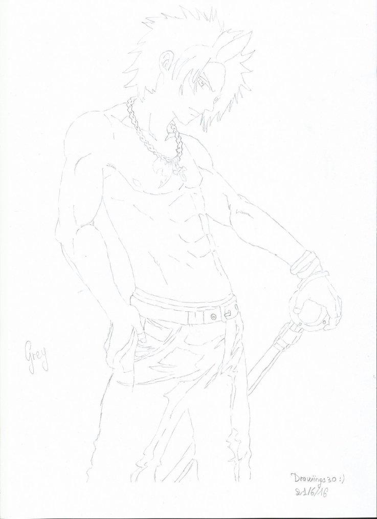 Grey Fullbuster - Fairy Tail [en cours de finition] n°2