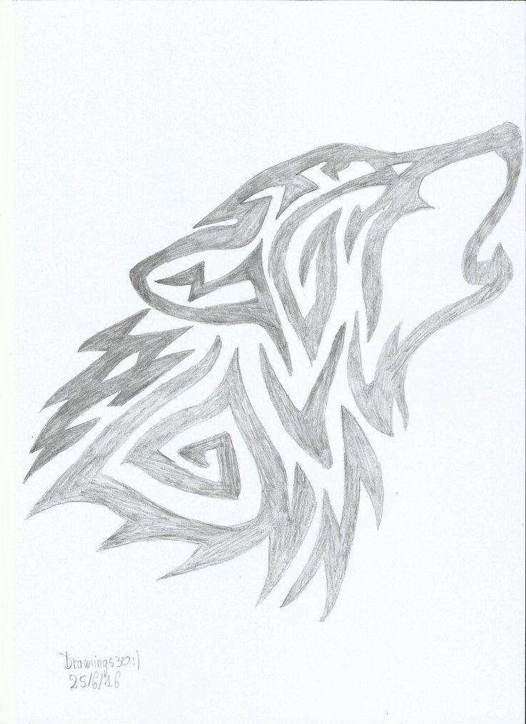 Loup (Wolf) - Tatouage
