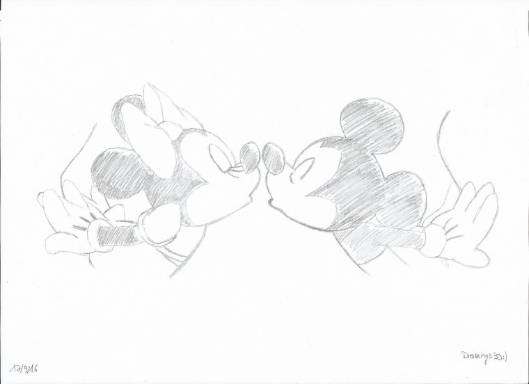 Minnie et Mickey - Disney n°1
