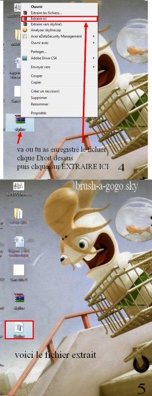 comment installer une nouvelle ecriture sur mon ordinateur ?