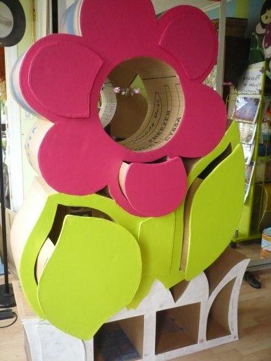 Fleur à recyclage