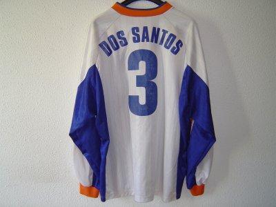 Maillot du MHSC de Manuel Dos Santos en coupe d'Europe (sponsor plus petit qu'en championnat)