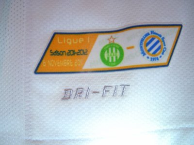 Maillot du MHSC porté par John UTAKA saison 2011-2012