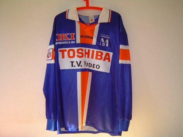 Maillot du MHSC porté lors de la saison 98-99