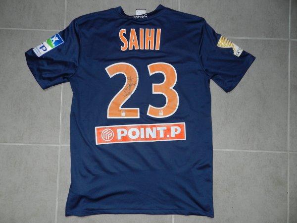 Maillot du MHSC porté en coupe de la ligue 2011-2012