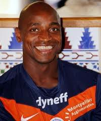 Maillot d'entraînement du MHSC porté par Souleymane Camara