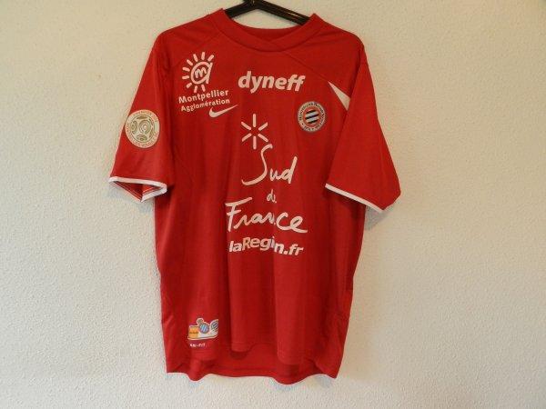 Maillot du MHSC saison 2012-2013