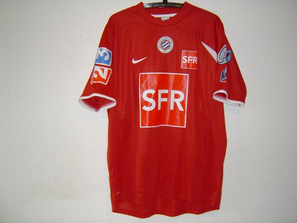 Maillot du MHSC coupe de France
