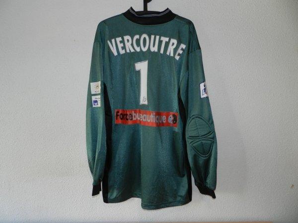 Maillot du MHSC porté par Rémy Vercoutre saison 2000-2001