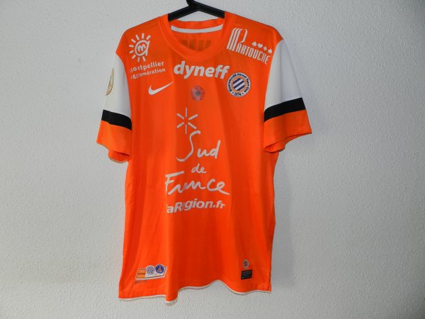 Maillot du MHSC saison 2012-2013 Laurent Pionnier