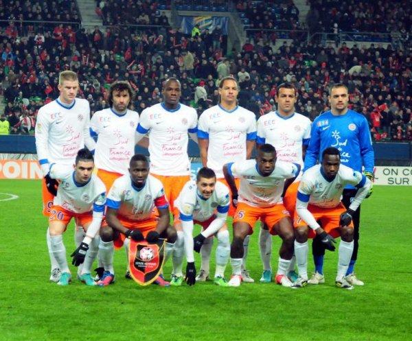 Maillot du MHSC coupe de la ligue 2012-2013