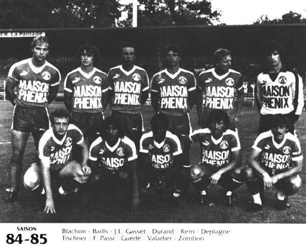 Maillot de Montpellier La Paillade saison 1984-1985