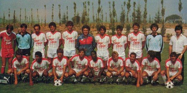 Maillot de Montpellier (MPSC) saison 83-84