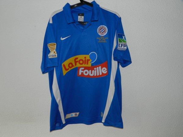 """Maillot MHSC """"ULTRA COLLECTOR"""" finale coupe de la ligue 2011"""