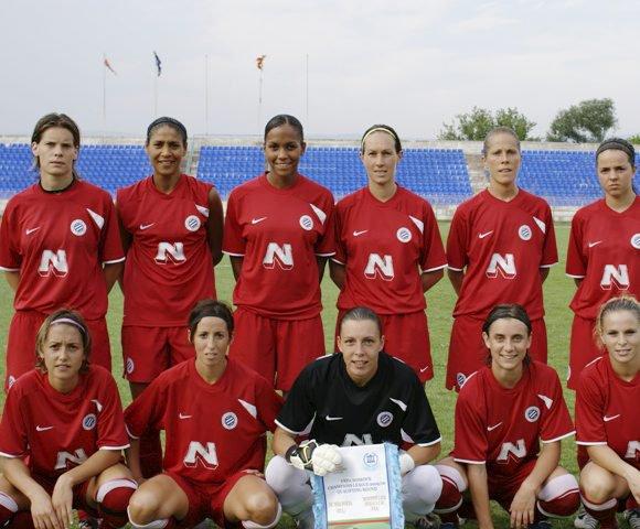 Maillot du MHSC Féminines Ligue des champions 2009-2010