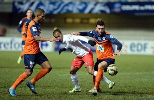 Maillot du MHSC porté en coupe de France 2014-2015