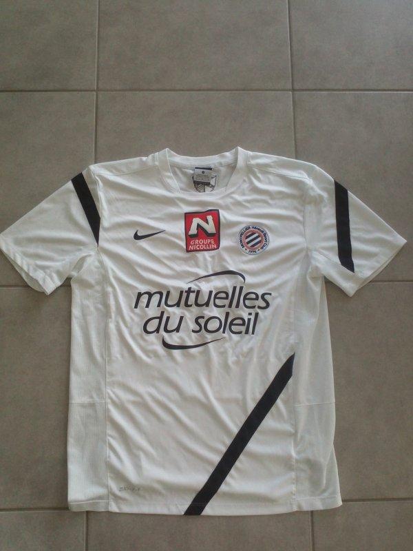 Maillot d'échauffement du MHSC saison 2012-2013