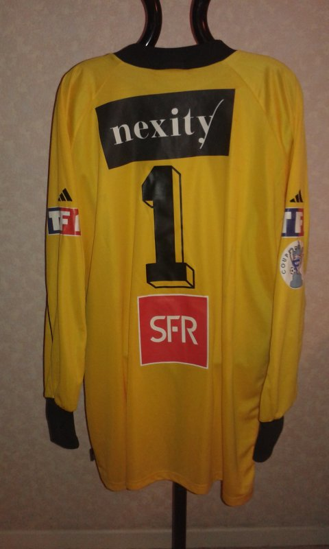 Maillot du MHSC coupe de France saison 2001-2002