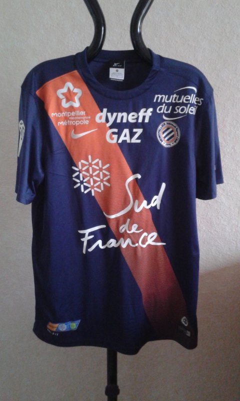Maillot du MHSC saison 2015-2016