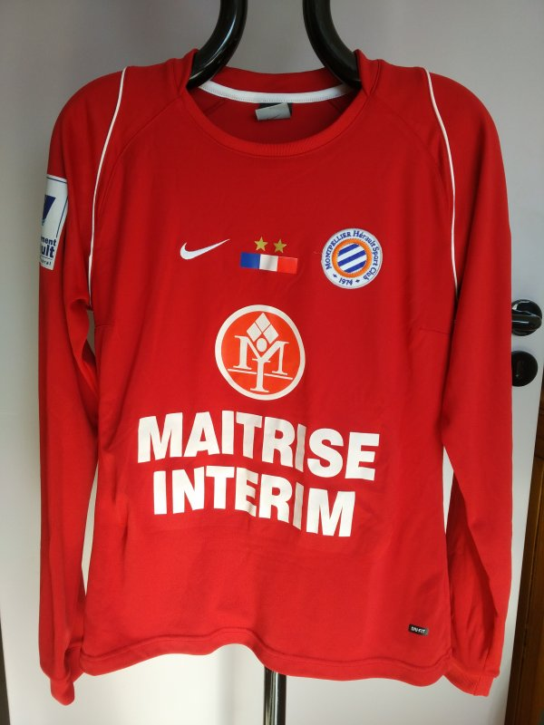 Maillot MHSC équipe féminine saison 2005-2006