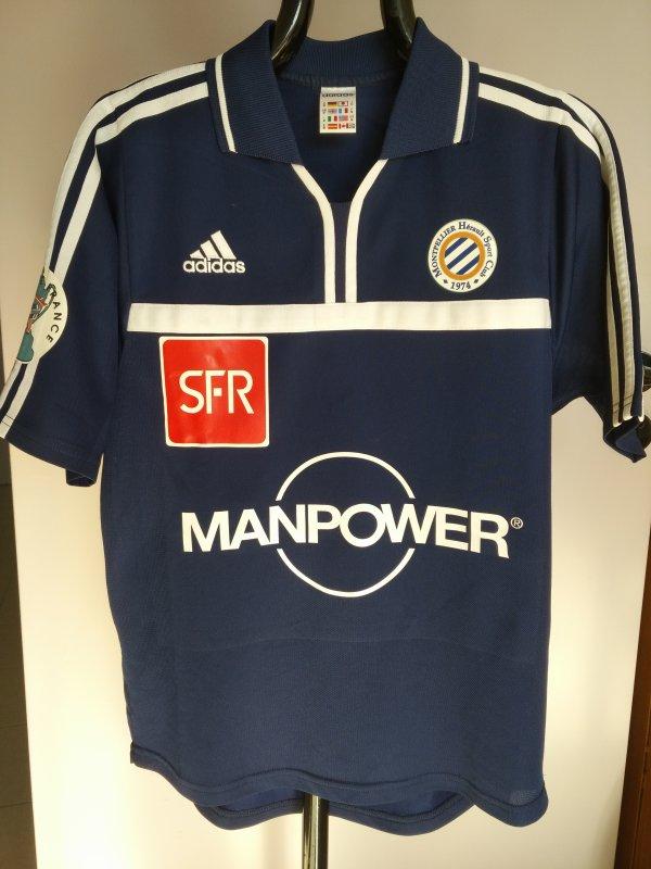 Maillot du MHSC saison 2001-2002