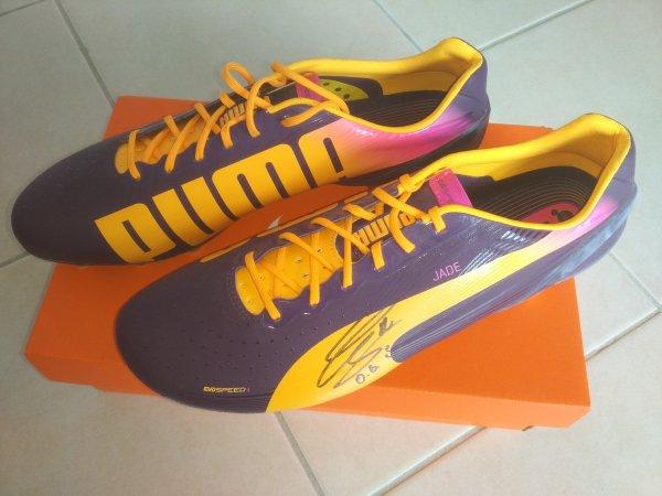 Chaussures d'Olivier GIROUD !!!