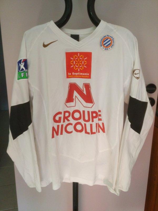 Maillot du MHSC saison 2005-2006