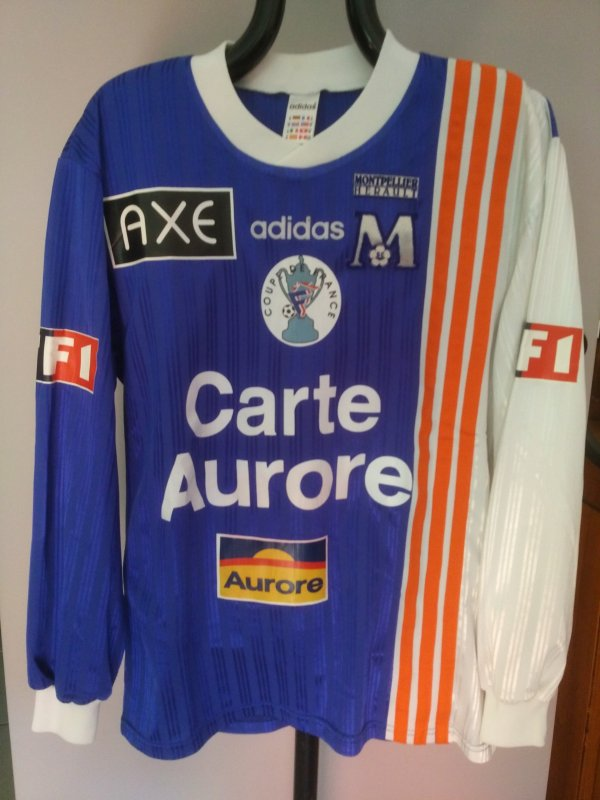Maillot du MHSC saison 1997-1998