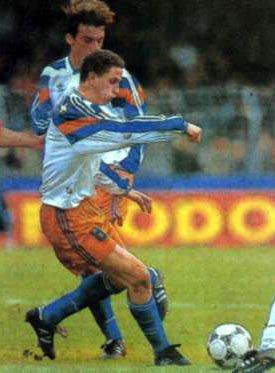 Maillot du MHSC coupe de la ligue 94-95