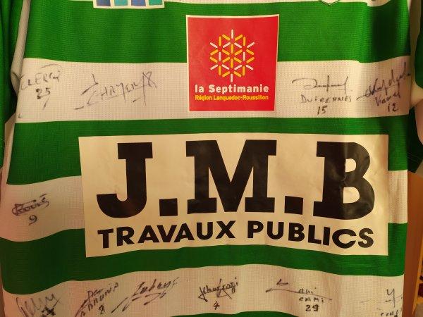 Maillot du FC Sète saison 2005-2006