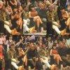 14/02/15 : Nicki Minaj vue assistant à un match « NBAAll Star Weekend dans la soirée. - New York.