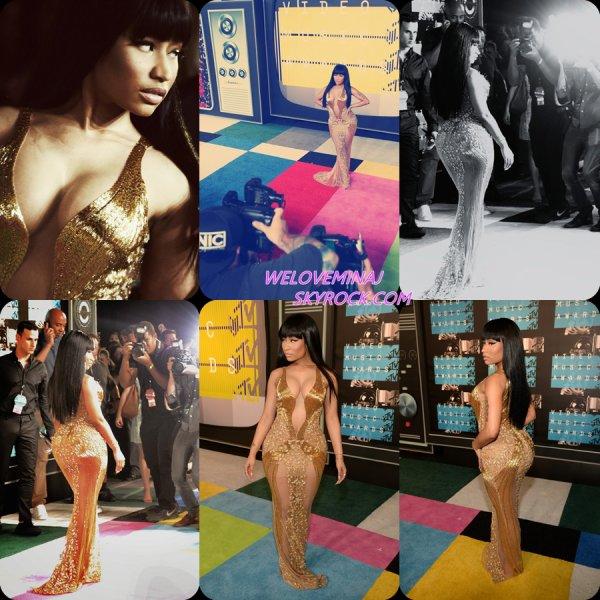 Nicki Minaj à la cérémonie des  « MTV Video Music Awards ». le 30/08/15