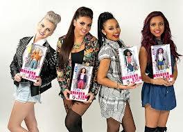 Les poupées Little Mix et One Direction.