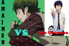 Amaimon VS Rin Okumura