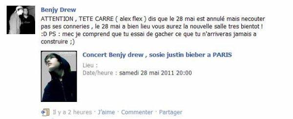 02/05/11 : Benjy Drew arrive à Zurich et les fans le confondent avec Justin Bieber.