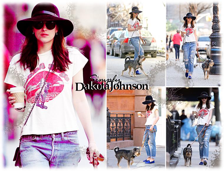 12/04 - 13/04 : Dakota dans les rues de NY