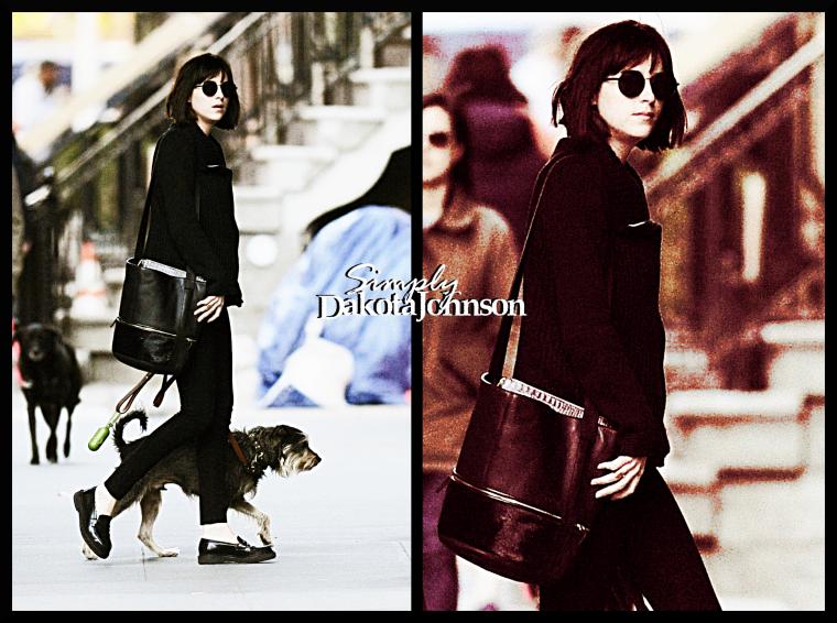 15/04 - 16/04: Dakota se promène, encore et toujours + New stills FSOG + Video avec Zep'