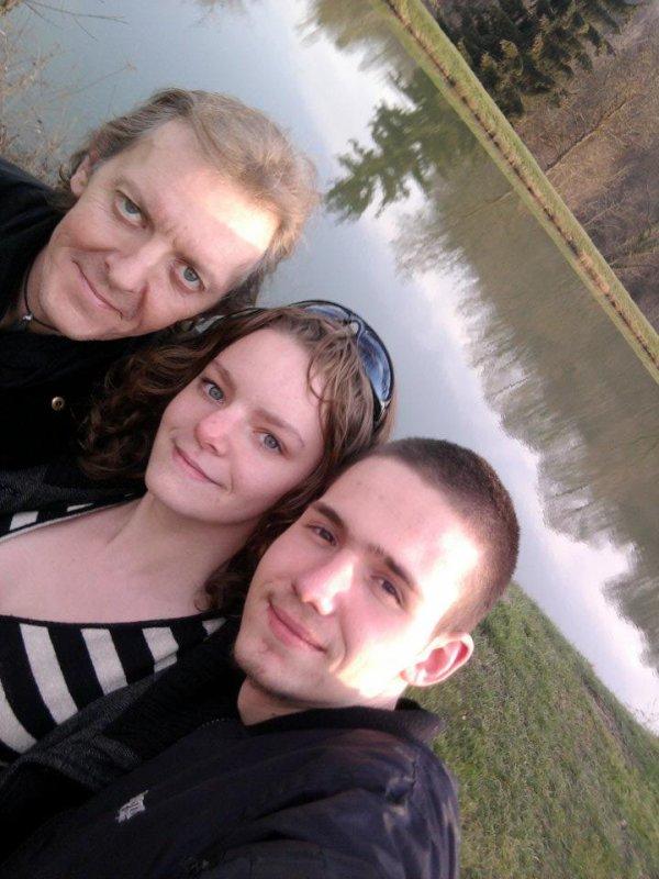 dimanche 1er avril avec ma fille et jordan , trop bien