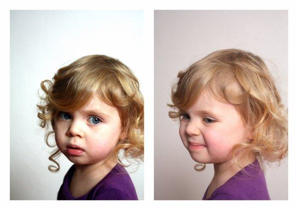 Portraits de mademoiselle Nina