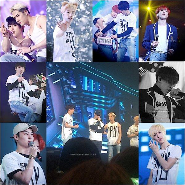 -- ❣ Découvrez  des photos du concert des GOT7 à Séoul, malheureusement JB n'a pas pu y participer à cause de son problème de dos mais il à fais quelques apparitions. --