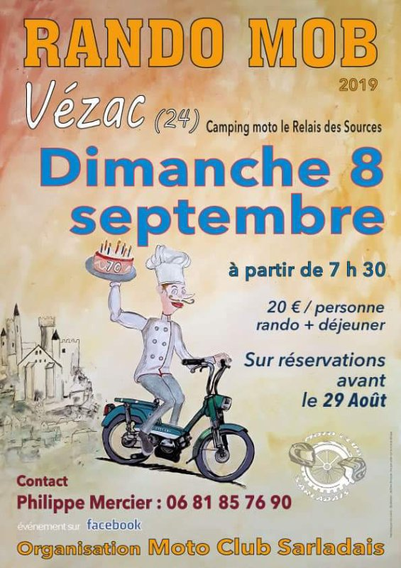 Rando mob Vézac - le 08 septembre 19
