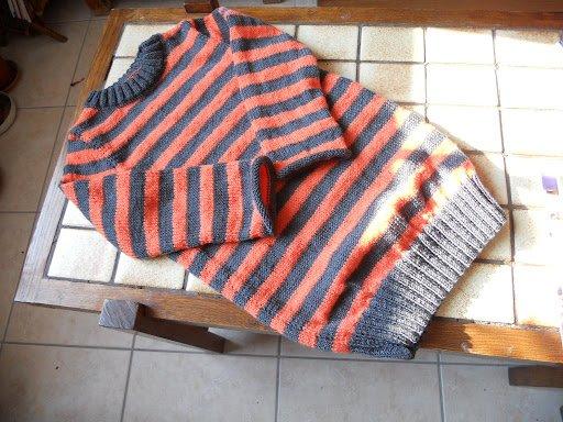 un pull robe