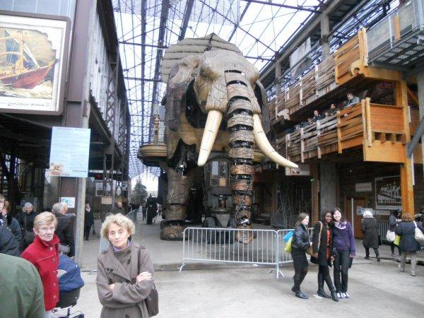 visite à Nantes