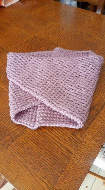 j'ai repris un peu le tricot