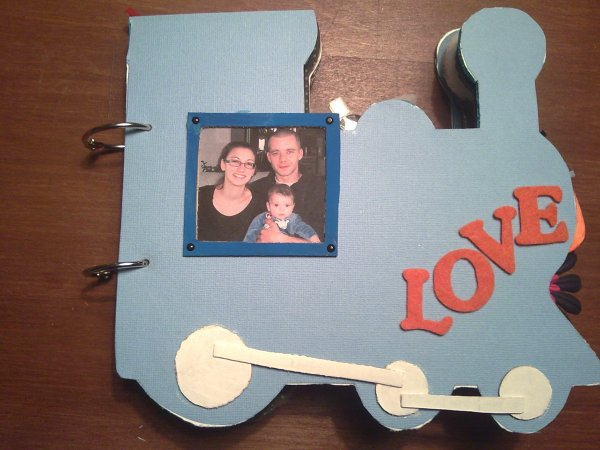 Train en Scrapbooking