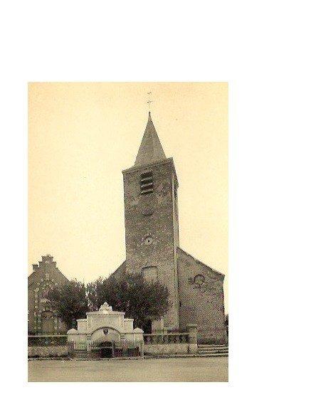 HOUTAING, église et monument