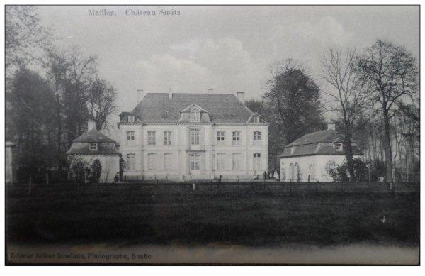 MAFFLE- château Smits  en 1900